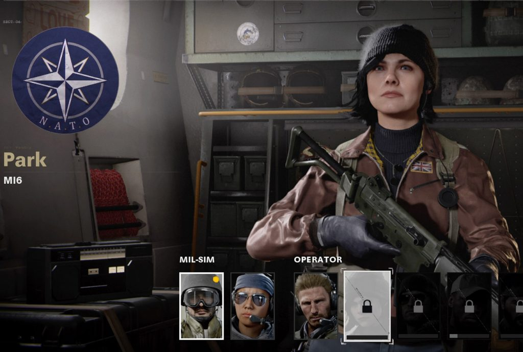 CoD Cold War Operator Park