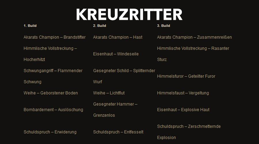Diablo 3 Kreuzritter Klon Season 22