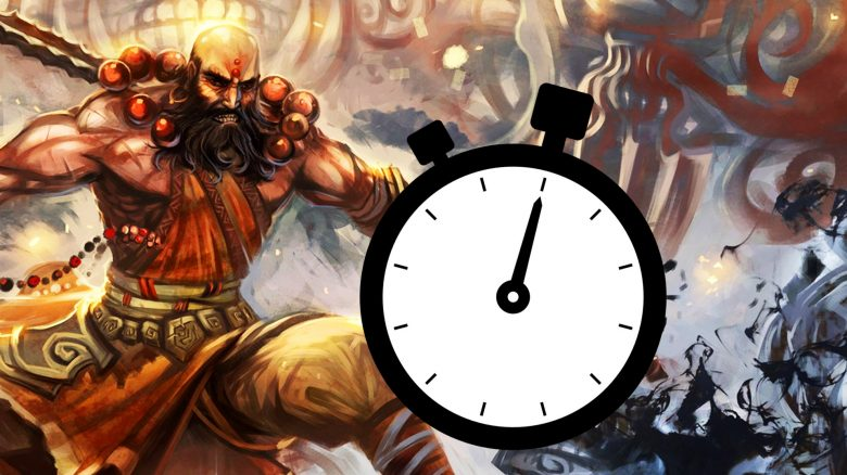 Diablo 3 Mönch Zeit Titel
