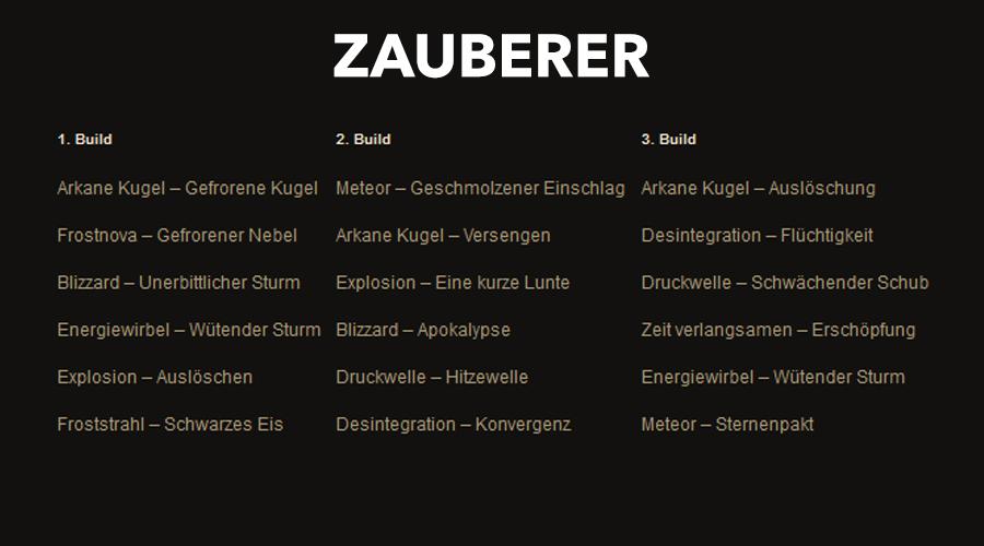 Diablo 3 Zauberer Klon Season 22