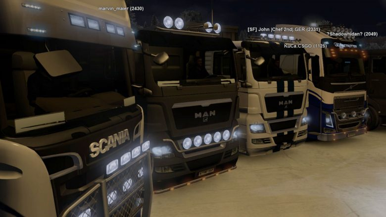 Euro Truck Simulator 2 im Multiplayer mit tausenden Truckern spielen – So geht's