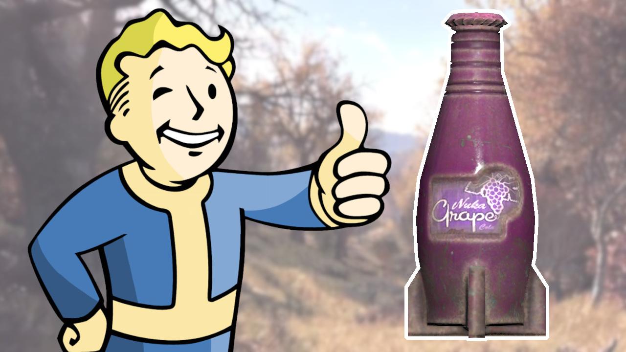 Fallout 76 Nuka Cola Grape