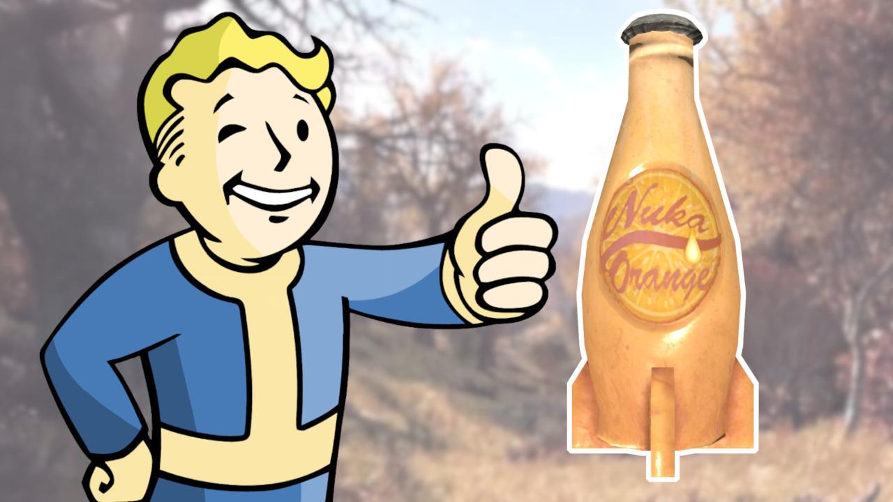 Fallout 76 Nuka Cola Orange