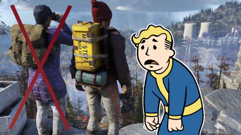 Neues Update bei Fallout 76 kommt super an, außer bei Solo-Spielern