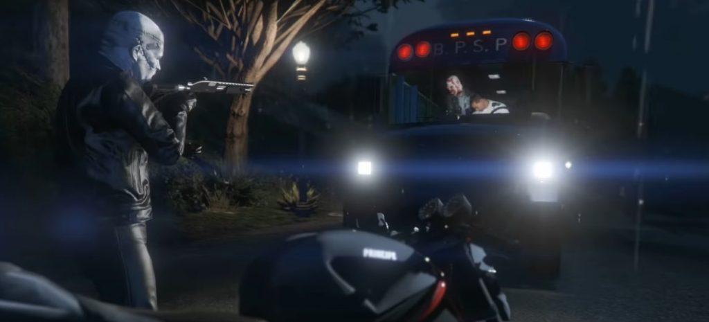 GTA Online Bus überfallen