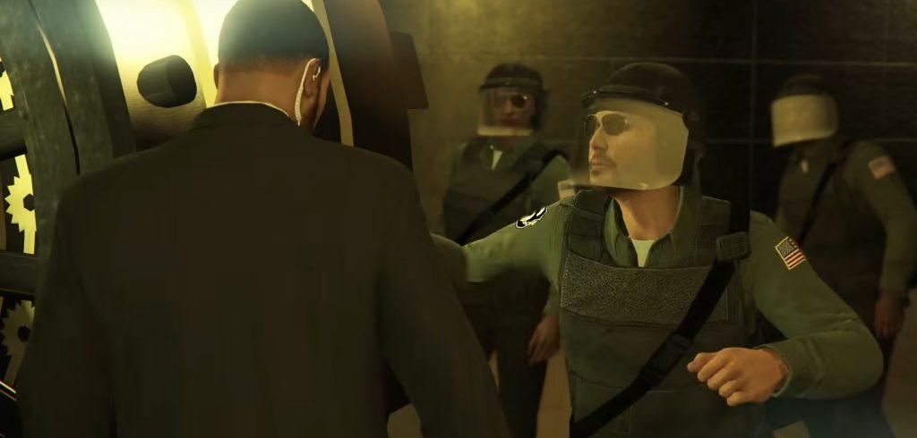 GTA Online Casino Heist Polizei