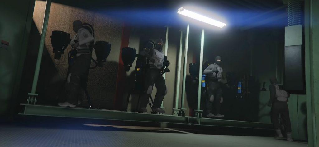 GTA Online Crew Jetpack