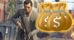 GTA Online Michael Geld Waffe Titel