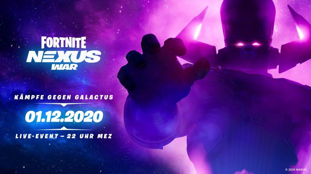 Galactus Live Event Infos