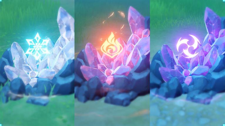 Genshin Impact Elementarreaktion