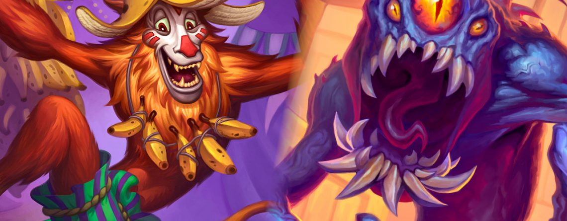 Hearthstone Ape and Claw Monster titel title 1280x720