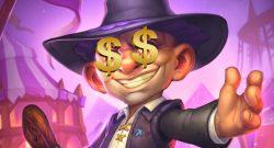 Hearthstone Silas Darkmoon Dollar Eyes Money titel title 1280x720