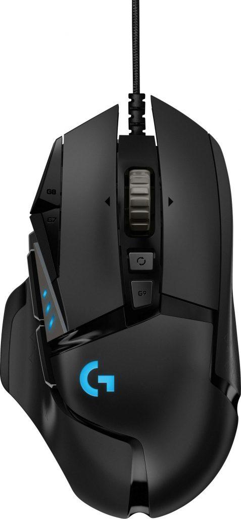 Logitech G502 Hero zum neuen Bestpreis von 34,12 Euro bei Saturn.de