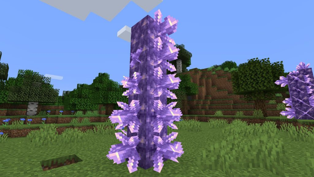 Minecraft Amethyst Statue