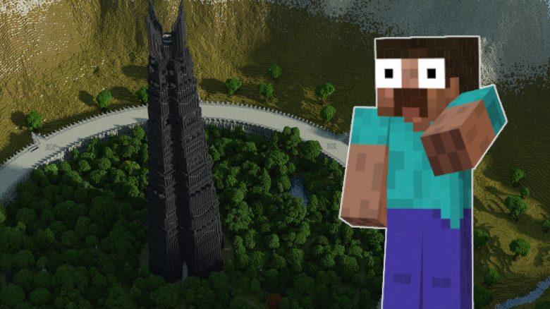 Minecraft Herr Der Ringe Welt titel title 1280x720