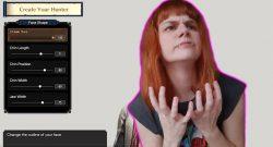Monster Hunter Rise Titel Char-Editor Larissa