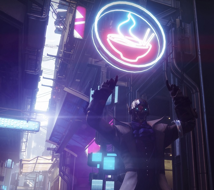 Nudeln Cayde Laden Shop Ramen Destiny City