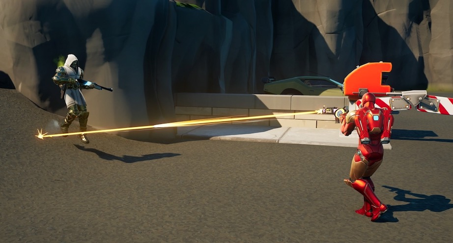 Fortnite Duell