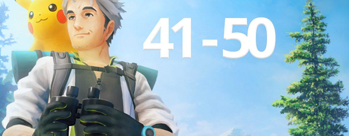 Pokémon GO 41 - 50 Titel