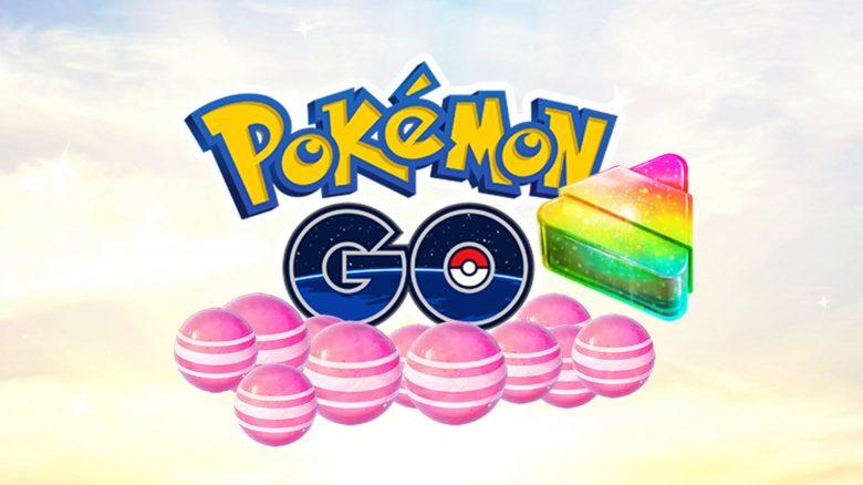 Pokémon GO Bonbons Pink Titel2