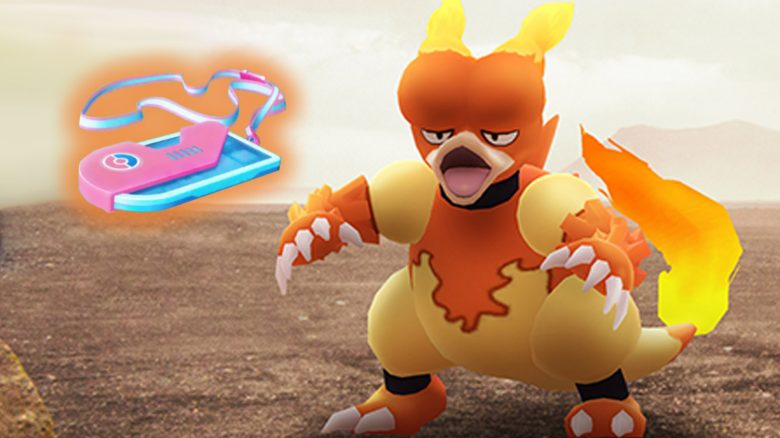 Pokémon GO Magmar Ticket Titel