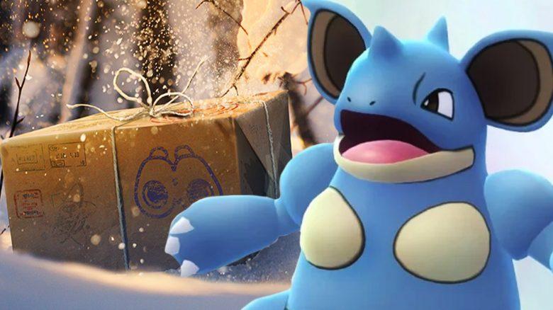 Pokémon GO Nidoqueen Winter Titel