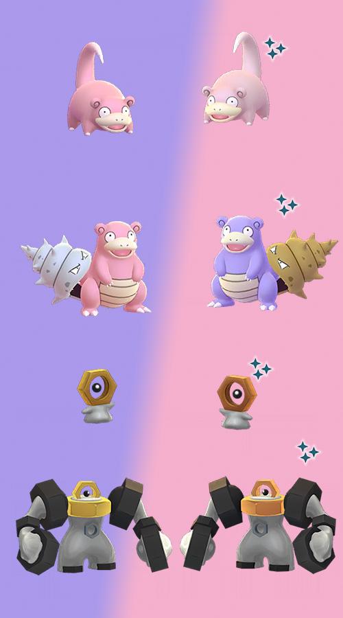 Pokémon GO Shiny Flegmon Shiny Meltan2