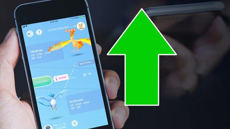 Pokémon GO Tauschen hoch Titel