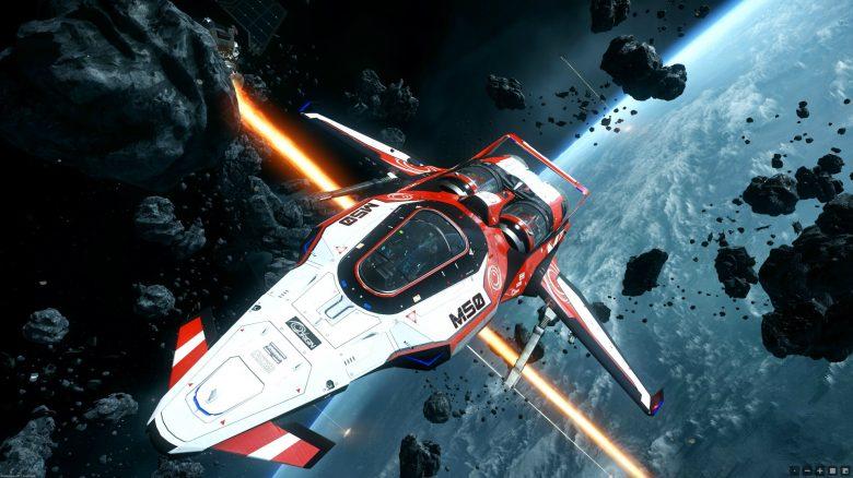 Star Citizen Weltraum Planet