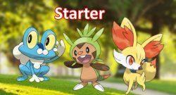 Starter 6. Generation Pokemon GO