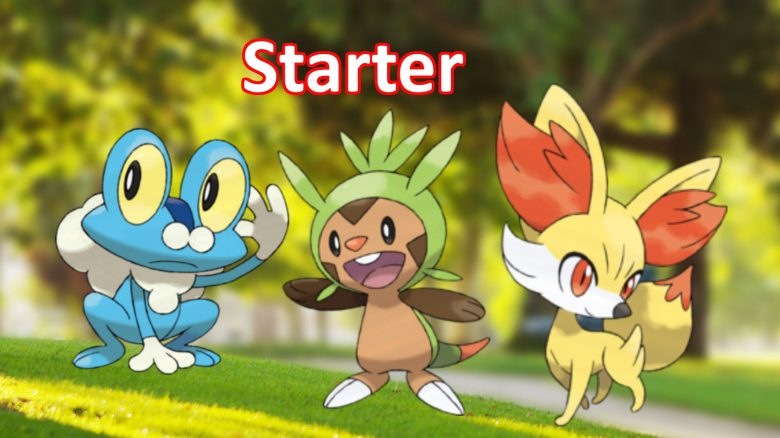 Starter 6. Generation Pokemon GO
