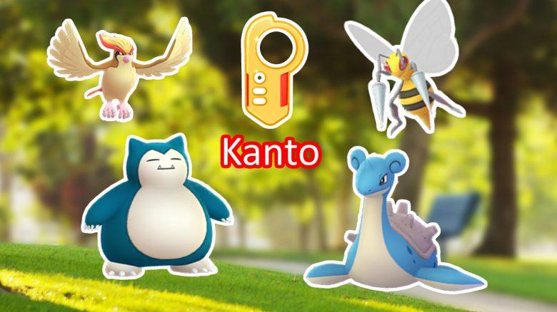 Kanto Cup Pokemon GO