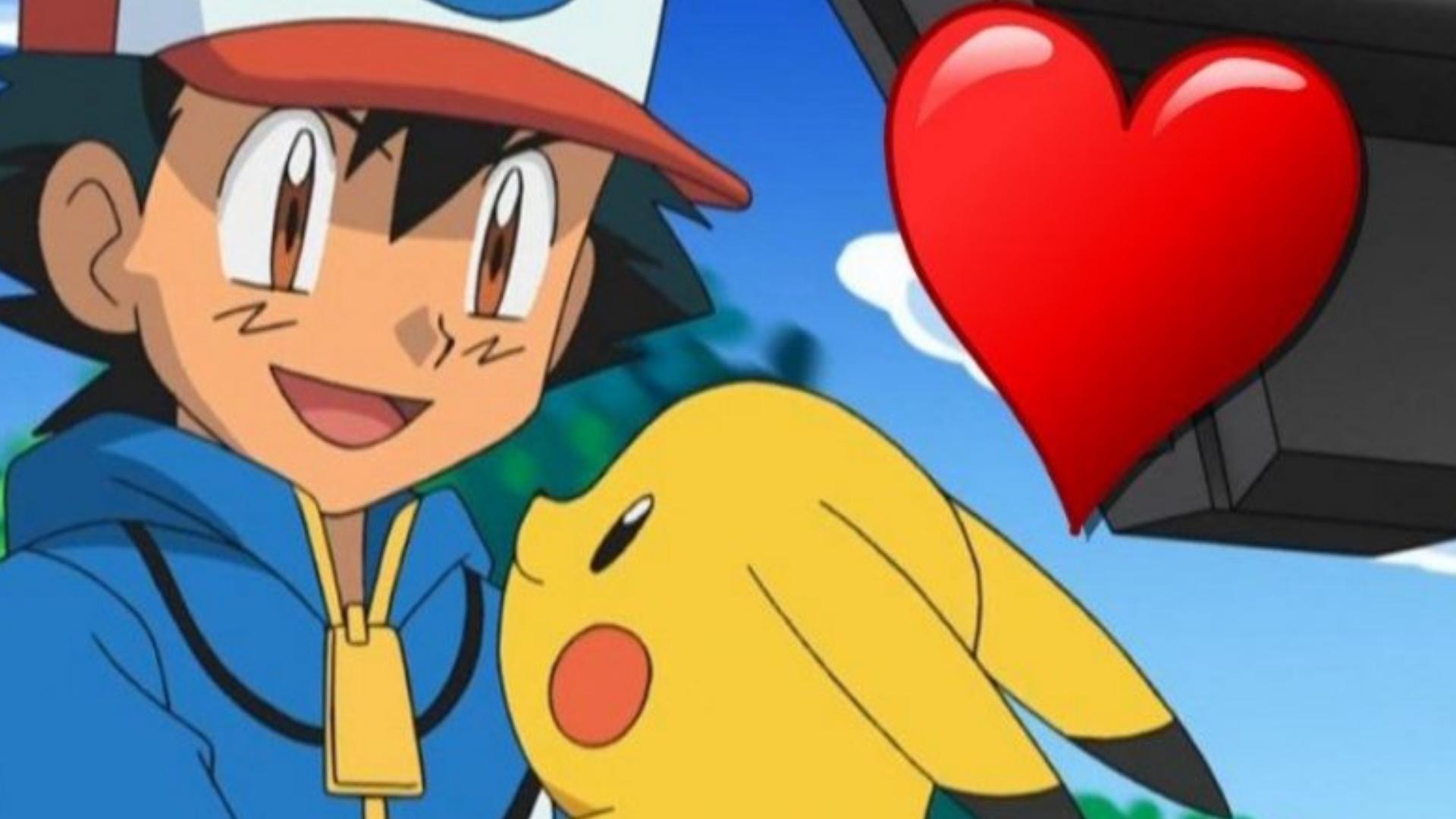 Titelbild Pikachu Ash Herz Pokemon GO