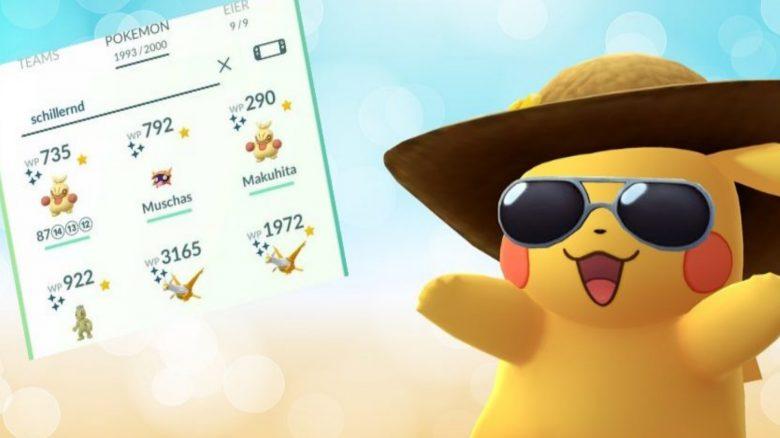 Pokemon GO Suchfunktion