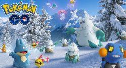 Winter Pokemon GO Weihnachten