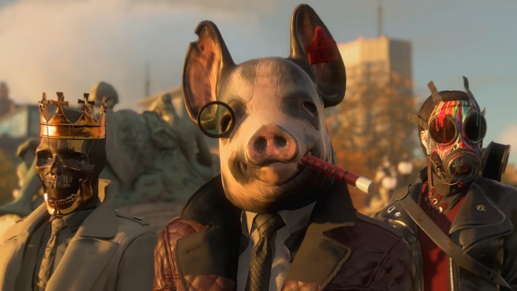 Watch Dogs Legion Masken