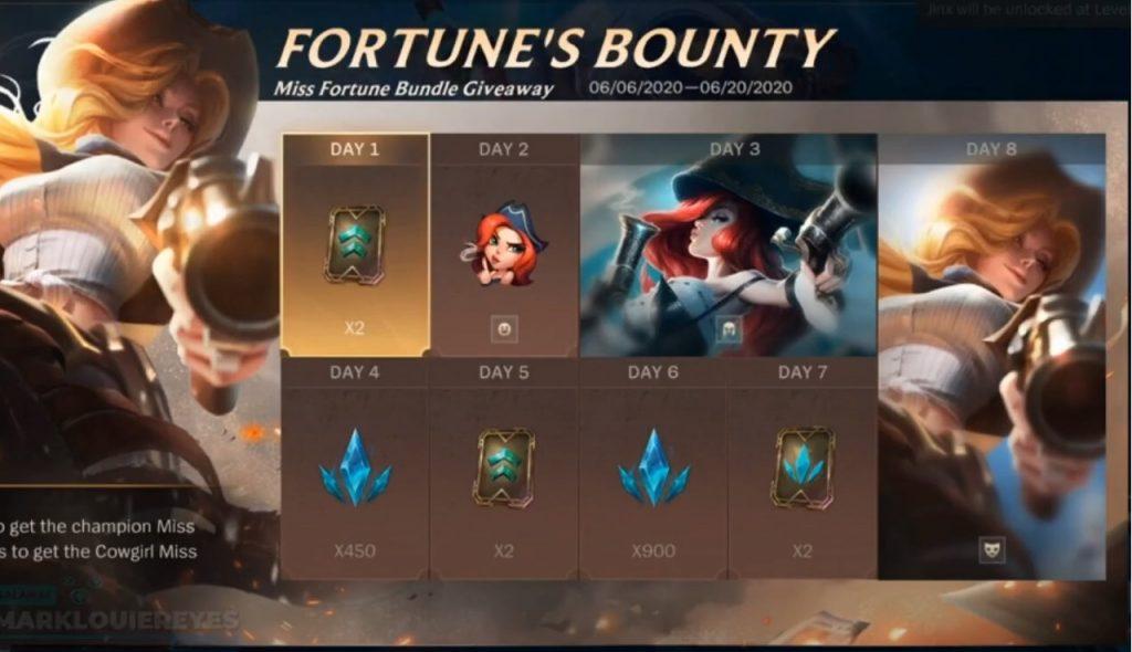 Wild Rift Fortunes Bounty
