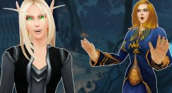 WoW Blood Elf Yes Human Mage No Icecrown titel title 1280x720