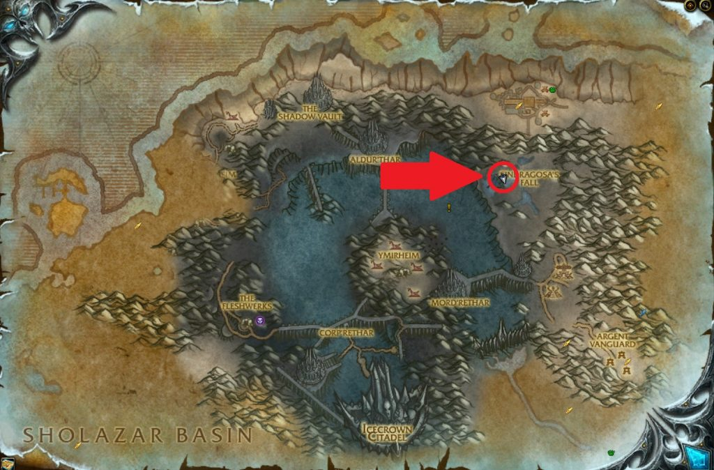 WoW Bronjahm Map