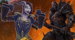 WoW Draenei Flex Shadowlands titel title 1280x720