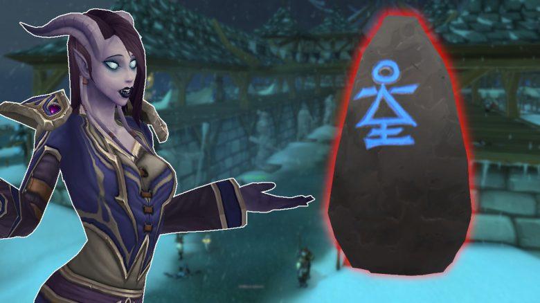"""WoW: """"Seltsame Runensteine"""" – So schließt ihr die verdammte Quest ab"""