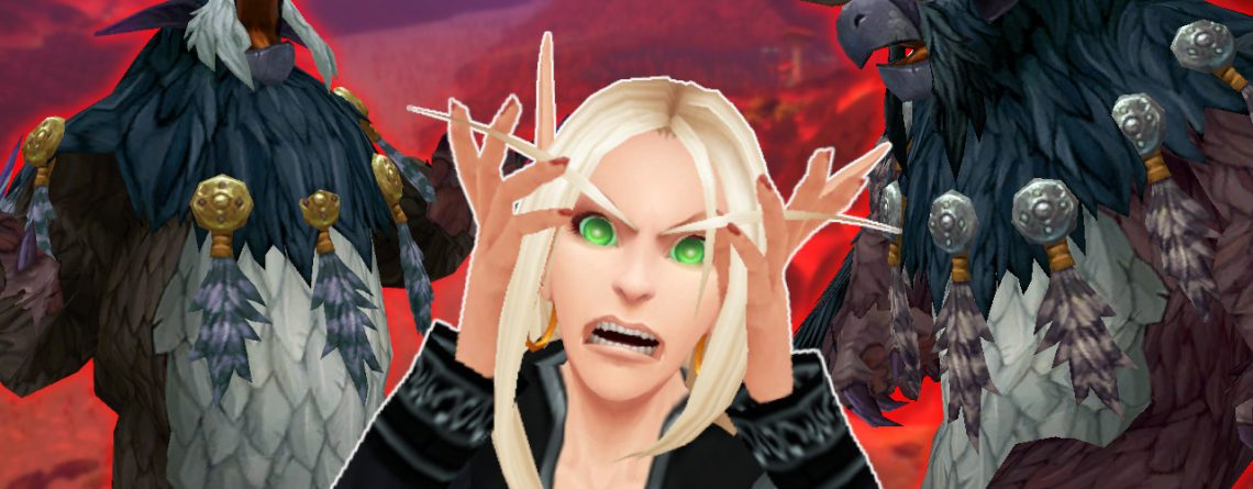 WoW Druid Moonkind Blood Elf Angry face titel title 1280x720