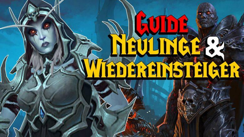 WoW Guide Neulinge Wiedereinsteiger titel title 1280x720