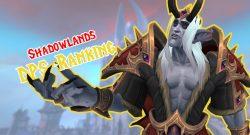 WoW Shadowlands Denathrius Nathria DPS Ranking Titel
