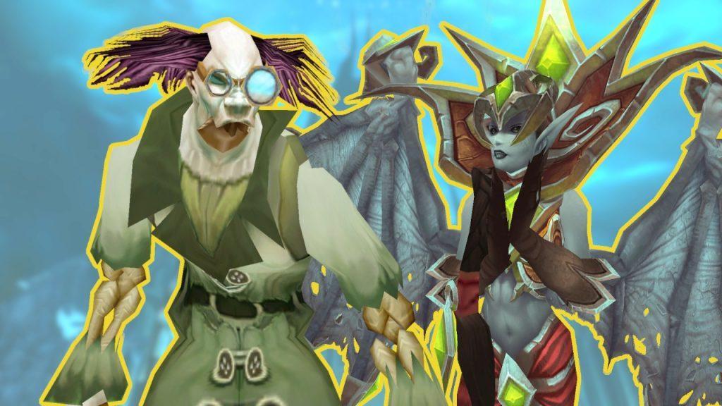 WoW Shadowlands Pre Event Putricide und Lanathel Titel Bosse Rare Mobs