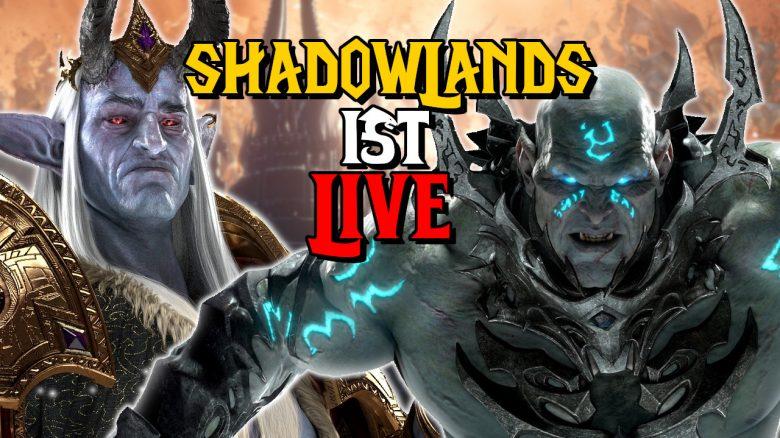 WoW Shadowlands ist live titel titel 1280x720