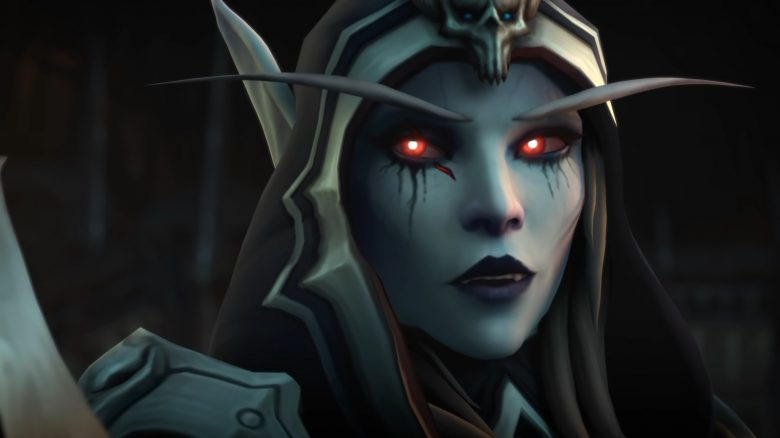 WoW Sylvanas Shadowlands titel title
