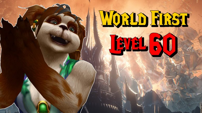 WoW World First Level 60 title titel 1280x720