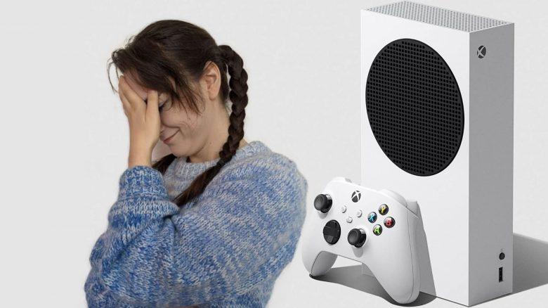 Xbox Series S mit Leya Jnakowski von MeinMMO