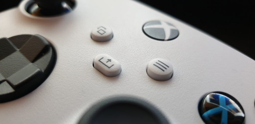 Xbox Series X Controller Share Taste